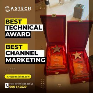 Astech Hikvision Award
